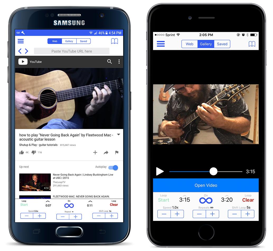 Loop2Learn in app store - slow down you tube