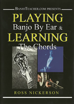 Playing Banjo by ear DVD