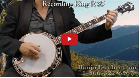 Recording King-Banjo-RK-R-36