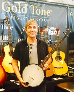 Ross Nickerson at Namm Show in Nashville