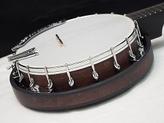 Shoe-and-bracket-banjo-with-resonator