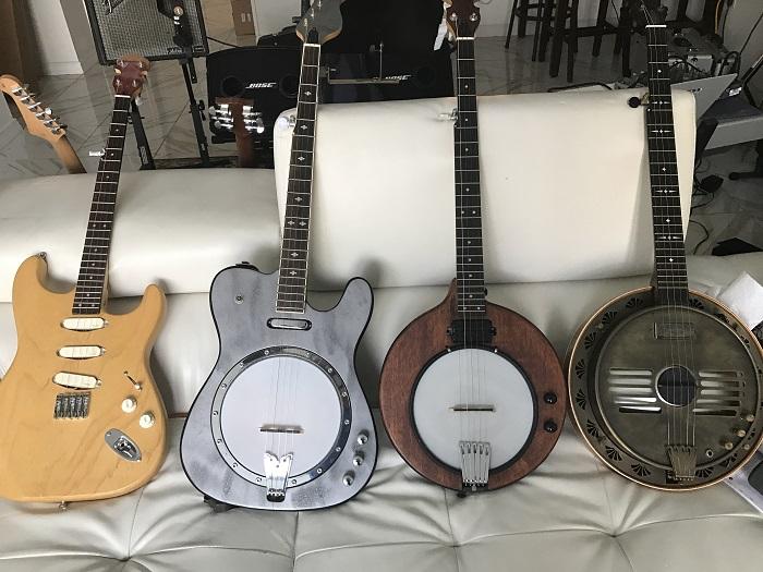 Electric Banjos - Ross Nickerson
