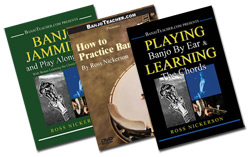 banjo instructional books