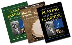 banjo instructional books