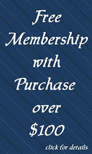 Free membership of 100.00